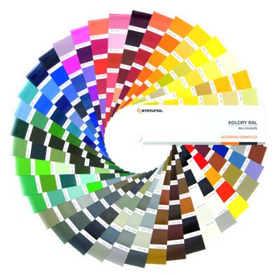 Wzornik kolorów z palety RAL